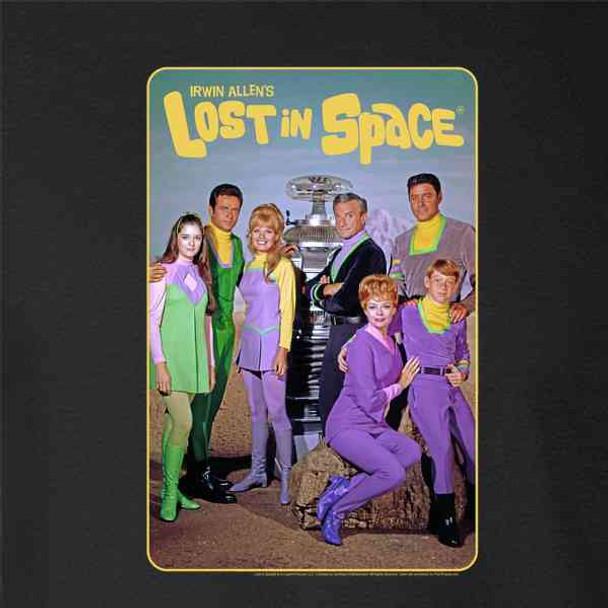Lost In Space Cast Photo Retro Classic SciFi TV