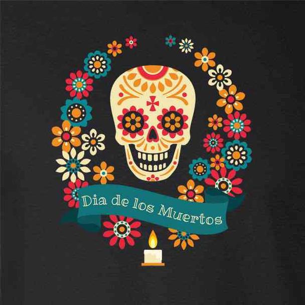 Dia de los Muertos Sugar Skull Halloween Horror
