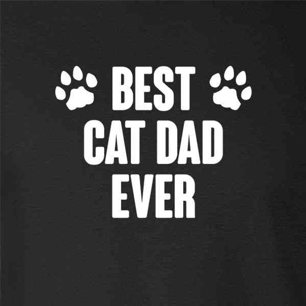 Best Cat Dad Ever Father's Day