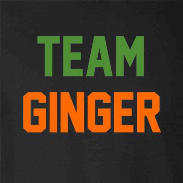 Team Ginger Funny St. Patricks Day Funny Cute Redhead