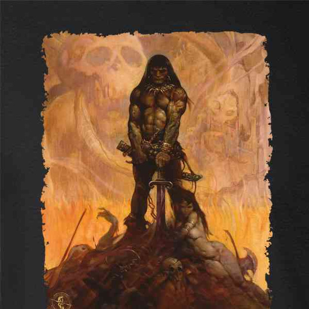 Barbarian by Frank Frazetta Art