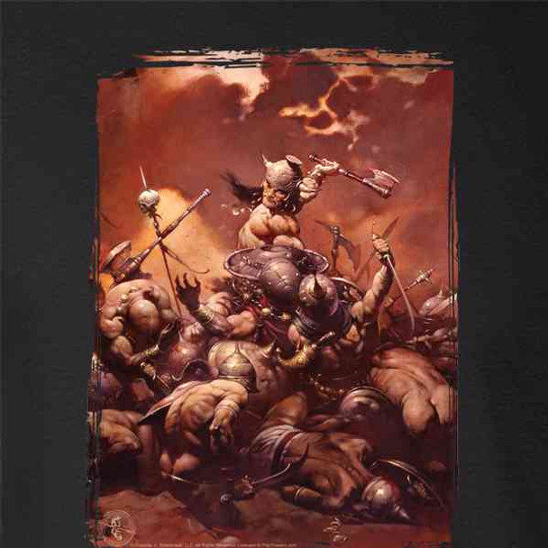 The Destroyer by Frank Frazetta Art