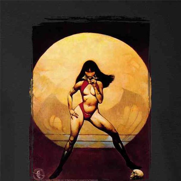 Original Vampire Mistress by Frank Frazetta Art