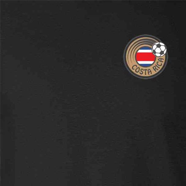 Costa Rica Soccer Retro National Team Costume