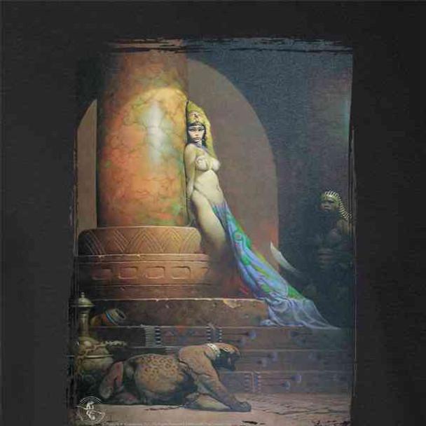 Egyptian Queen by Frank Frazetta Art