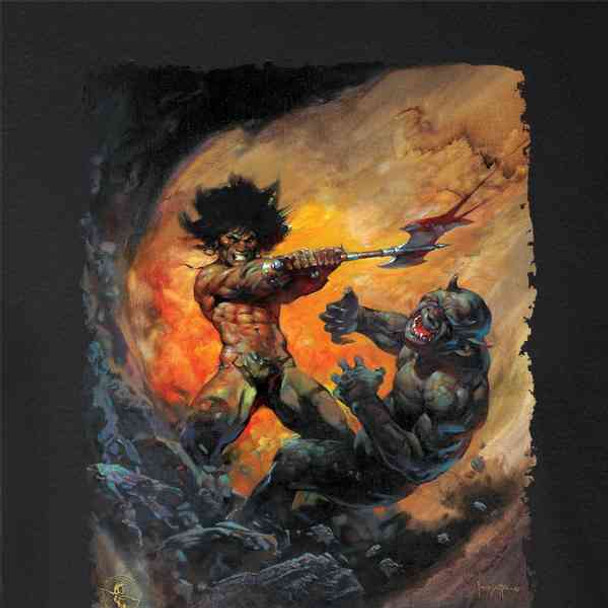 Barbarian 2 by Frank Frazetta Art
