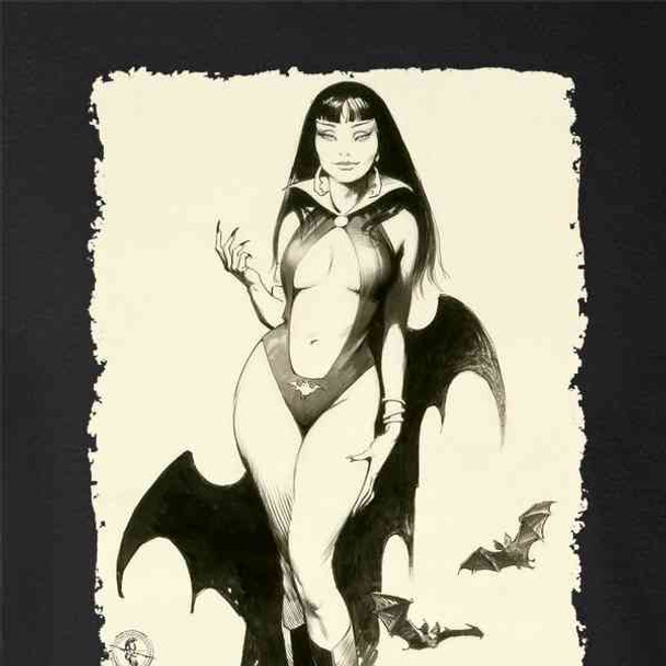 Vampire Mistress Sketch by Frank Frazetta Art