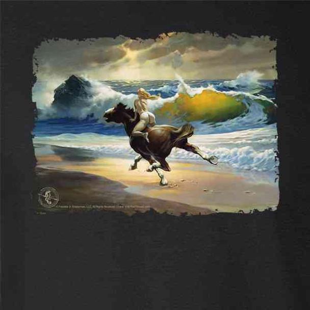 Wild Ride by Frank Frazetta Art