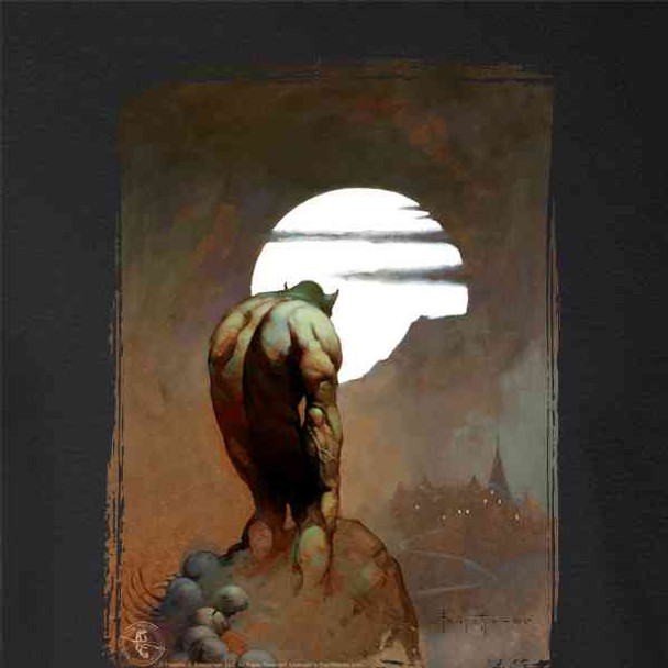 Nightstalker by Frank Frazetta Art