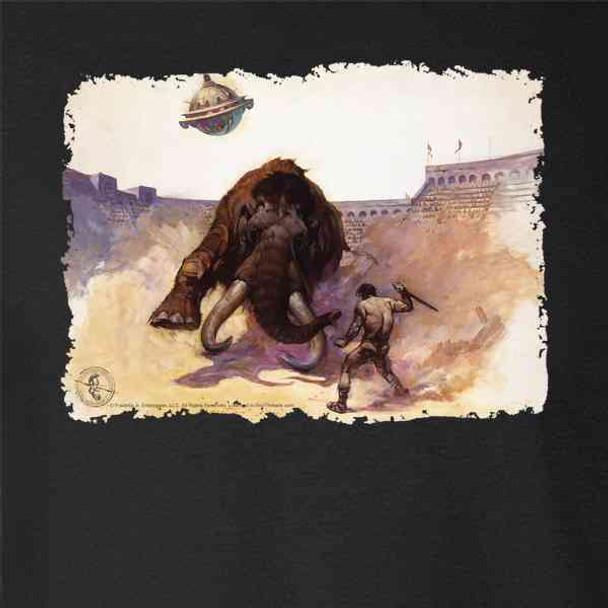 Mastodon by Frank Frazetta Art