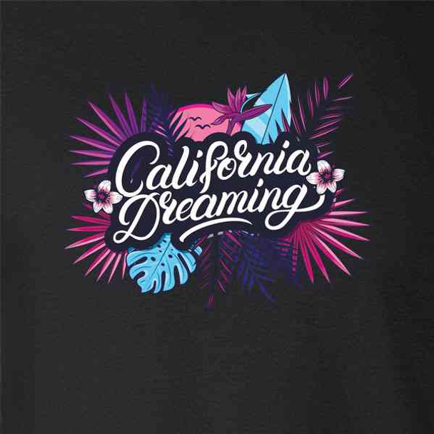 California Dreaming Retro Vacation Beach