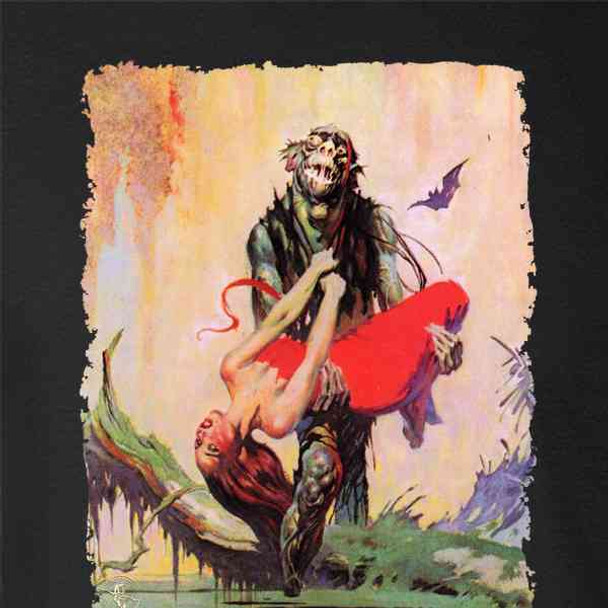 Swamp Thing by Frank Frazetta Art