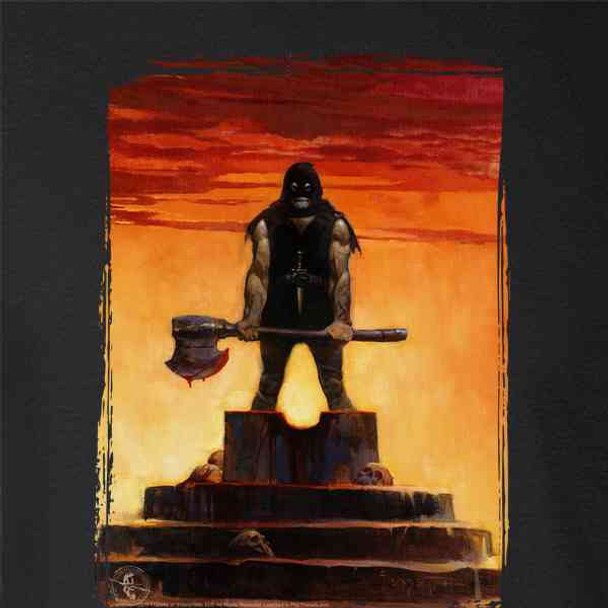 The Executioner by Frank Frazetta Art