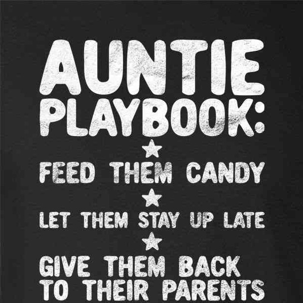 Auntie Playbook Funny Mother's Day