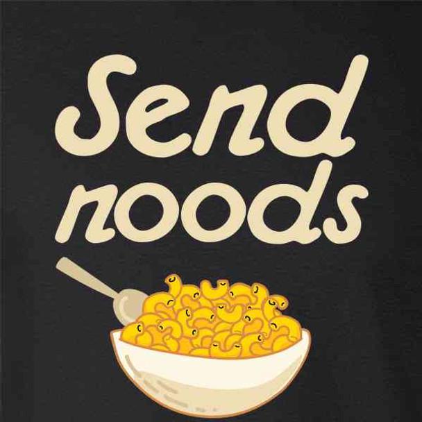 Send Noods Food Pun Noodles Pun