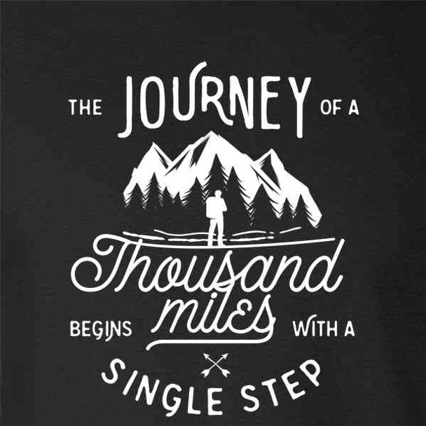 Journey Of 1000 Miles Begins With A Single Step