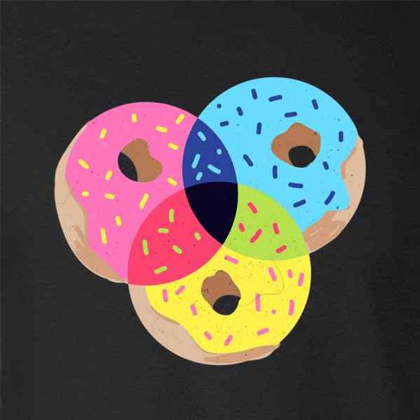 Donut CMYK Funny