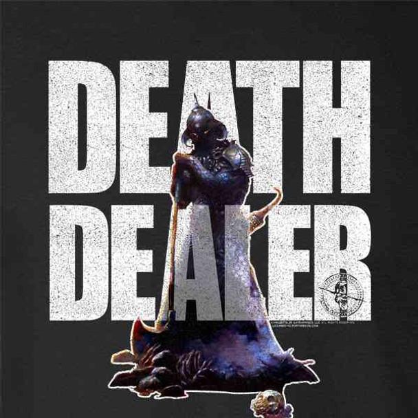 Frank Frazetta Death Dealer Three Text Art