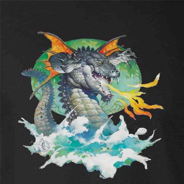 Winged Dragon by Frank Frazetta Art