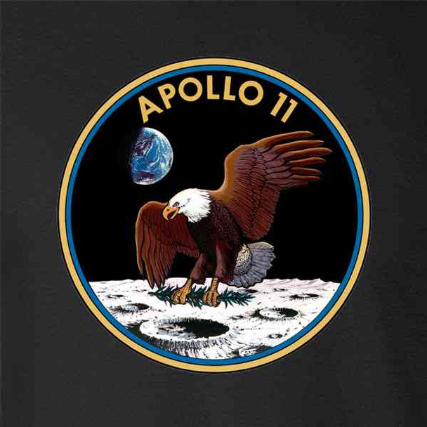 Apollo 11 Mission Patch NASA Approved