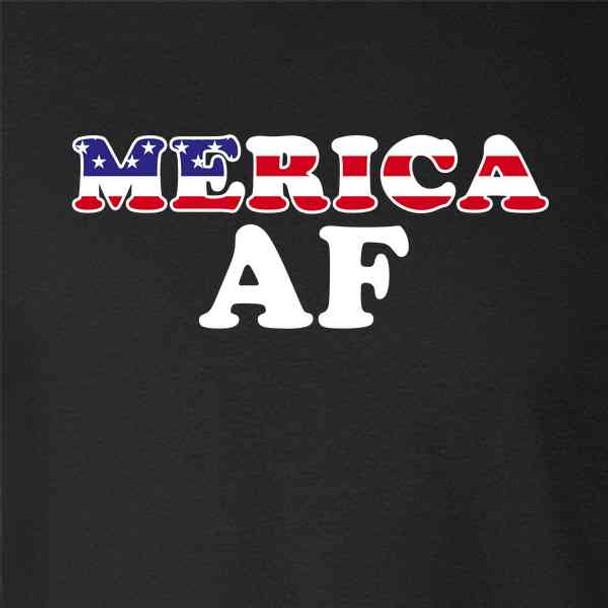 Merica AF Funny Patriotic
