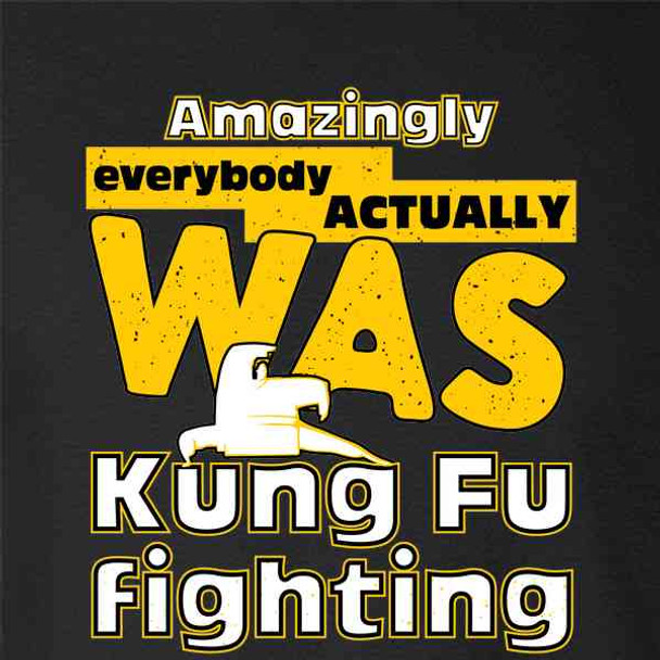 Amazingly Everybody Actually WAS Kung Fu Fighting