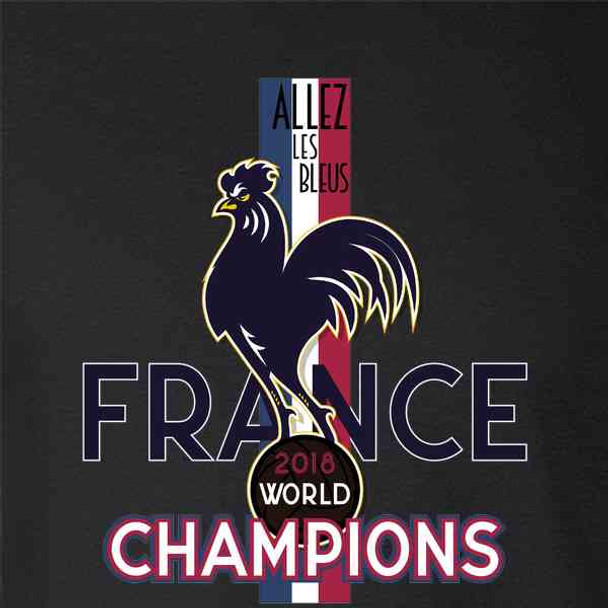 France Soccer 2018 World Champions Football