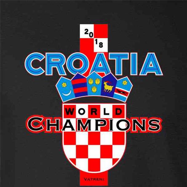 Croatia Soccer 2018 World Champions