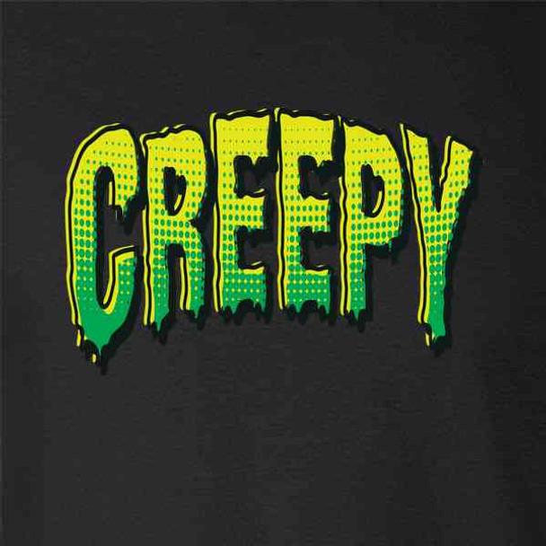 Creepy Retro Comic Text Horror Halloween Costume