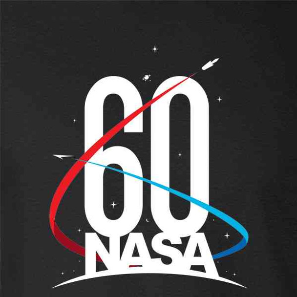 NASA Approved 60th Anniversary Logo