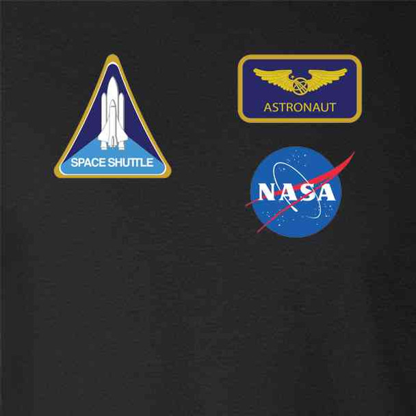 NASA Approved Astronaut Uniform Patches Costume