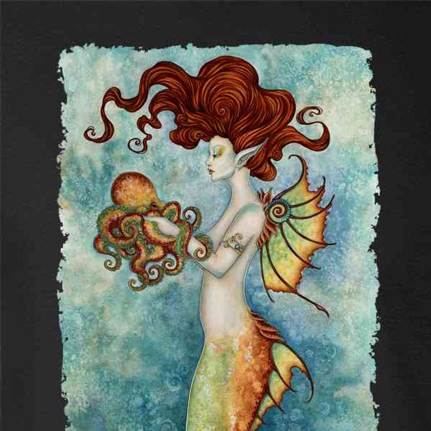 Mermaid and Octopus by Amy Brown Art