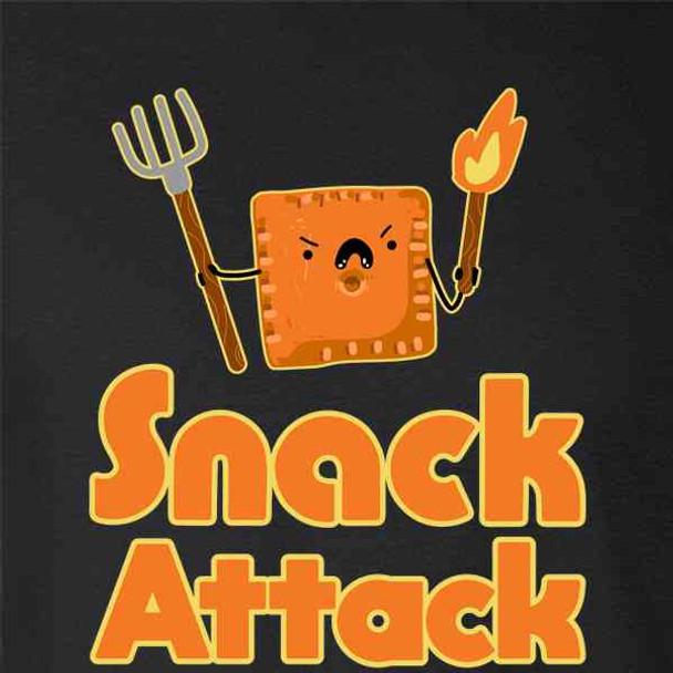 Snack Attack Funny Cute
