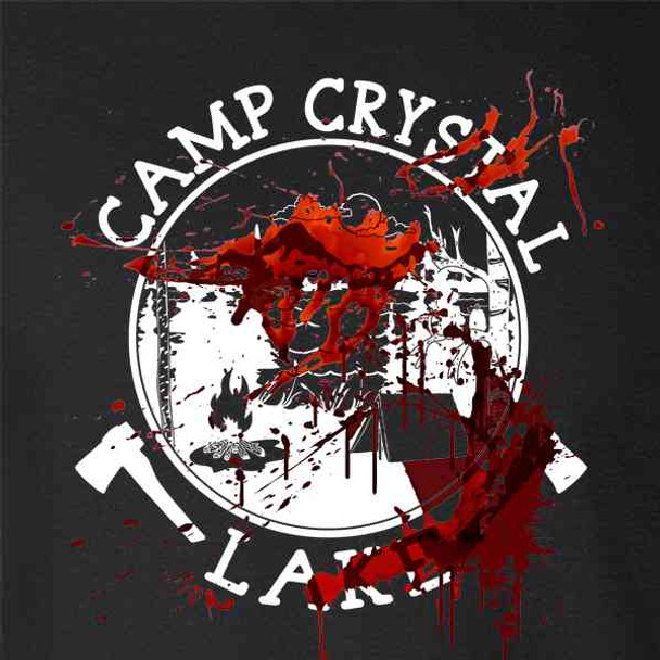Camp Crystal Lake Counselor Staff Bloody Costume