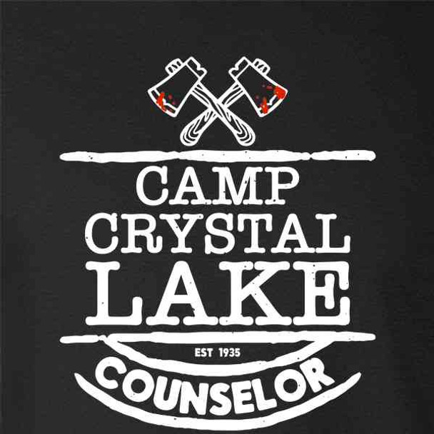 Camp Crystal Lake Counselor Costume Staff