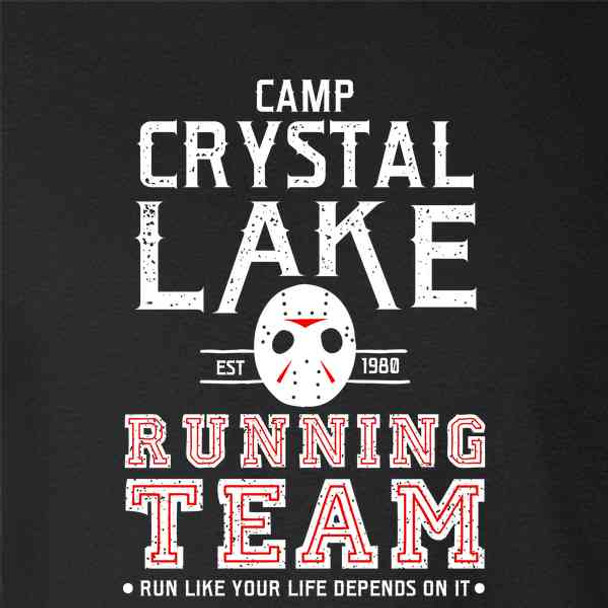 Camp Crystal Lake Running Team Horror Costume