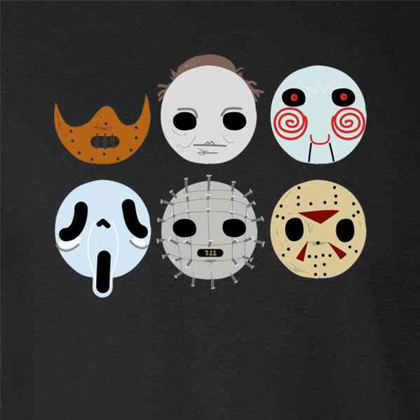 Horror Masks Monster Scary Movie Halloween Costume