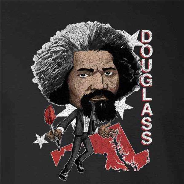 Frederick Douglass Retro History Hero Caricature