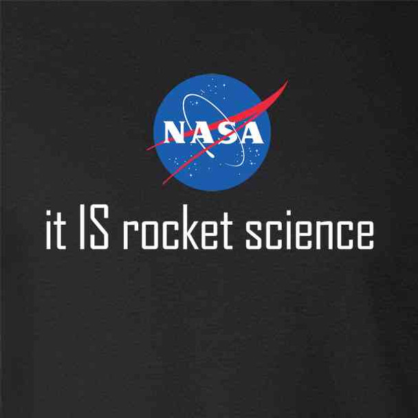 NASA Approved It IS Rocket Science Logo Funny