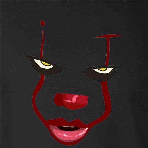 Clown Face Horror Scary Movie Halloween Spooky