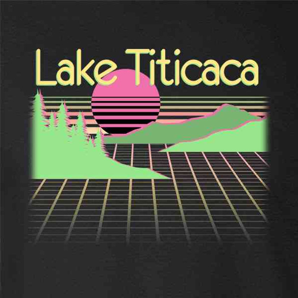Lake Titicaca Retro Travel Vacation Funny