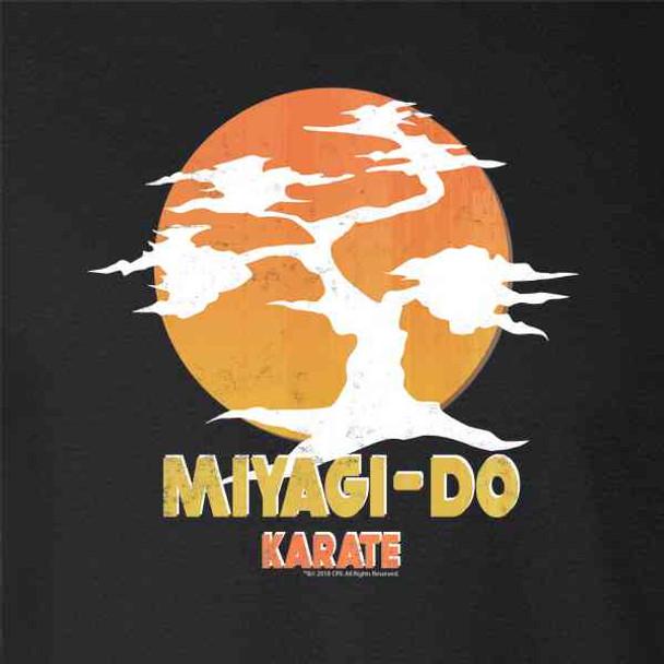 Karate Kid Miyagi-Do Dojo Bonsai Sunset Costume