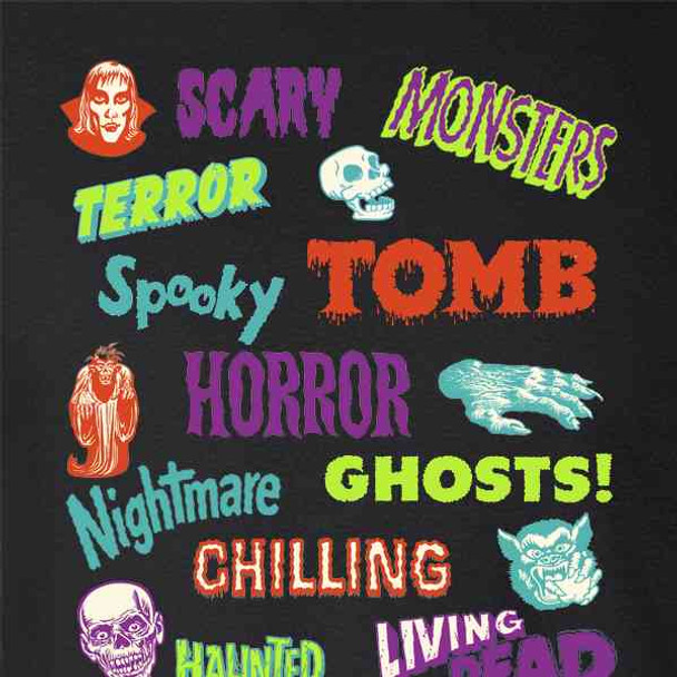 Retro Horror Comics Vintage Halloween Creepy Goth