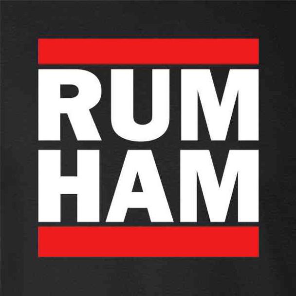 Rum Ham Funny Logo Parody