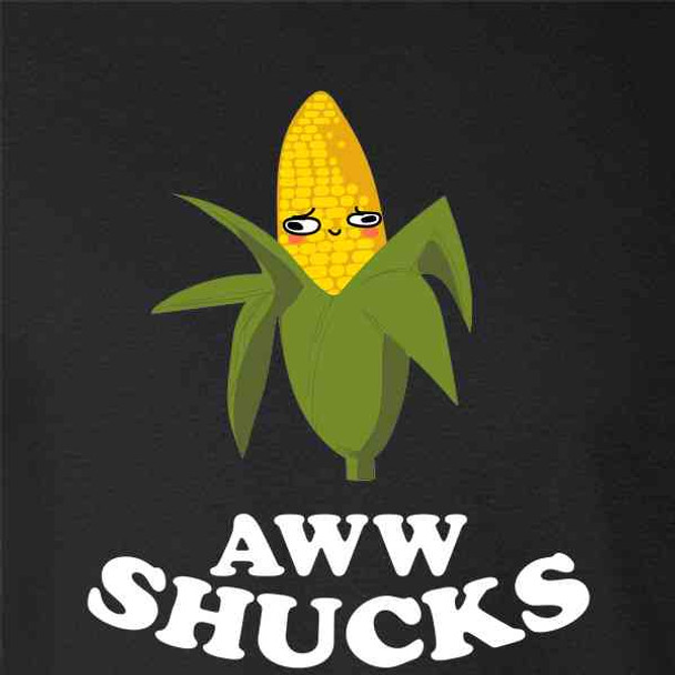 Aww Shucks Ear of Corn Cute Funny