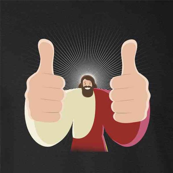 Jesus Thumbs Up Dank Christian Meme Funny