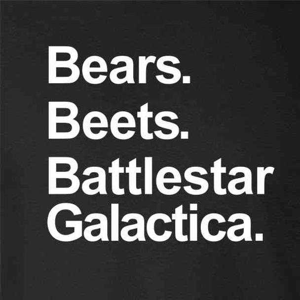 Bears Beets Battlestar Galactica Funny