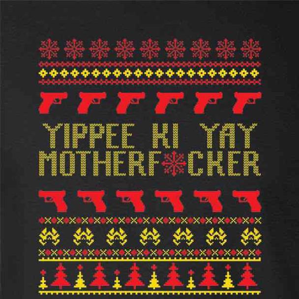 Yippee Ki Yay MFer Christmas Sweater Funny