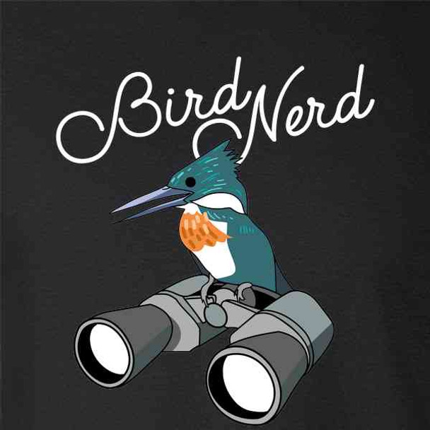 Bird Nerd Birdwatching Cute Funny