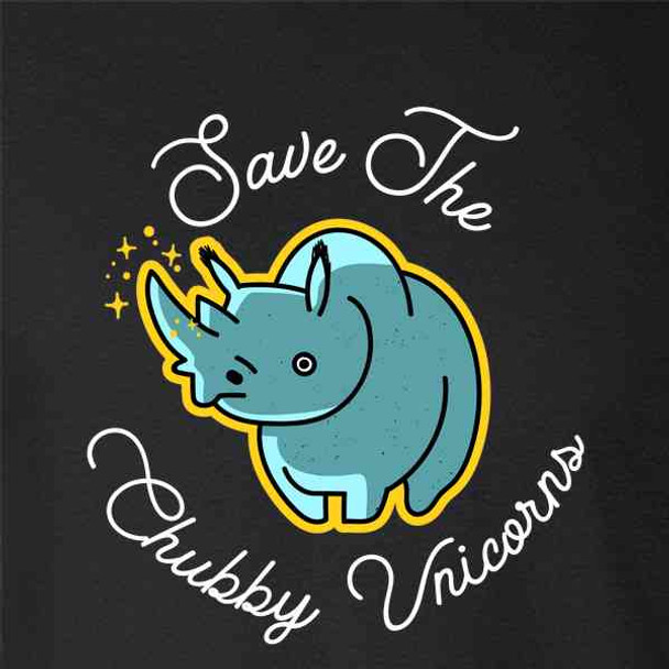 Save The Chubby Unicorns Funny Rhino Meme